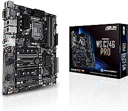 ASUS LGA1151 ECC DDR4 M.2 C246 Server Workstation ATX Motherboard for 8th Generation Intel Motherboards WS C246 PRO