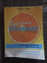 Experience Psychology Third Edition