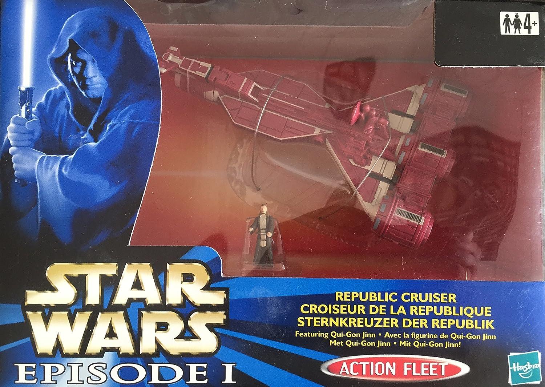 compras de moda online Estrella Wars Episode 1 - Acción Fleet 68134 – – – Republic Cruiser (feat. Qui-Gon Jinn)  disfrutando de sus compras