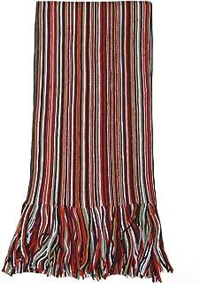 LASISZ Hommes /écharpe Unisexe /épais /écharpes dhiver Chaud /écharpe en Cachemire Noir et Gris /écharpes Bussiness de Gentilhomme Kaki 1