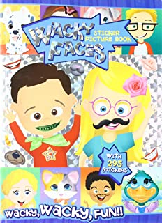 Wacky Faces Create a Face With Stickers & Foil