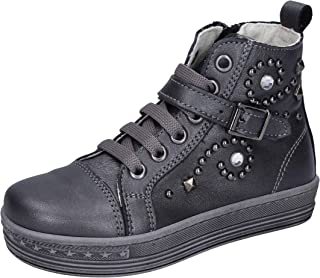 EB Sneaker Bambina Pelle Grigio