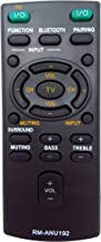 VINABTY Rm-anu192 Rm-anu191 Replaced Remote fit for Sony Sound Bar Ss-wct60 Sswct60 Ht-ct60 Sact60 Sa-ct60 Sa-ct60bt Sact60bt Htct60bt Ht-ct60bt Sact60bt Sa-ct60bt Sswct60 Ss-wct60