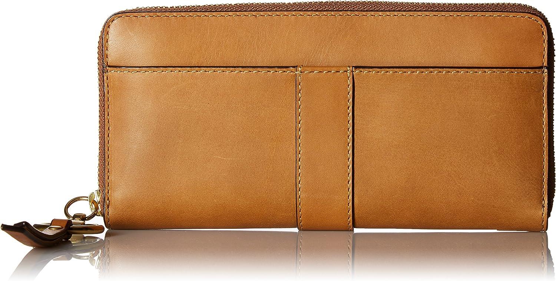 Ilana Harness Zip Wallet Antique Veg Tan Wallet, COGNAC, One Size