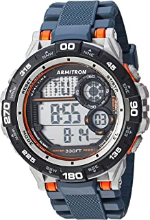Armitron Sport Men's 40/8441 Digital Chronograph Resin Strap Watch