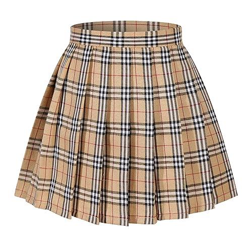 05769a84c2f Plaid Skirt: Amazon.com