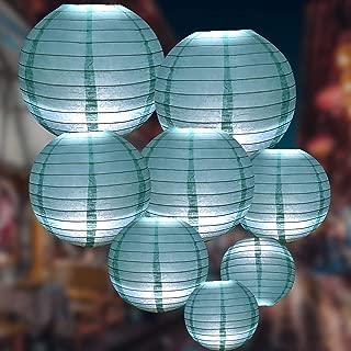 tiffany blue lanterns