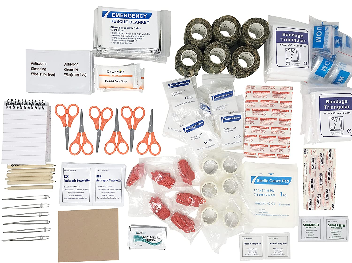Scout Personal gift Safety and trust First-Aid Kit - Contai Bundle Supply Build-A-Kit