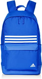 Adidas CLAS BP 3S POCK Backpack for Unisex - Bold Blue/Bold Blue/White  M  DT2618