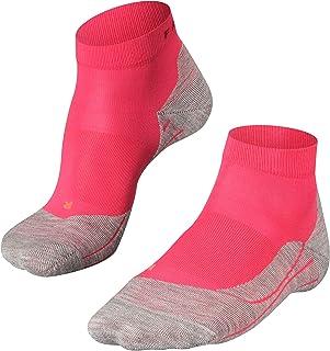 FALKE Damen Laufsocken RU4 Short, Kurze Runningsocke mit Baumwolle, leichte Dämpfung für blasenfreies Laufen auf mittleren bis längeren Strecken, 1 Paar, Größe: 35-38, 39-42