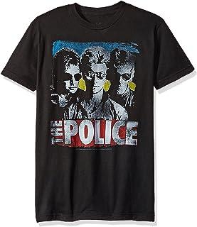 Liquid Blue Men's The Police Greatest Hits Short Sleeve T-Shirt