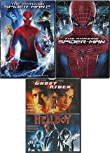 Amazing Super Heroes Marvel Collection Spider-Man Movie 1 & 2 + Ghost Rider & Hellboy Set 4-pack