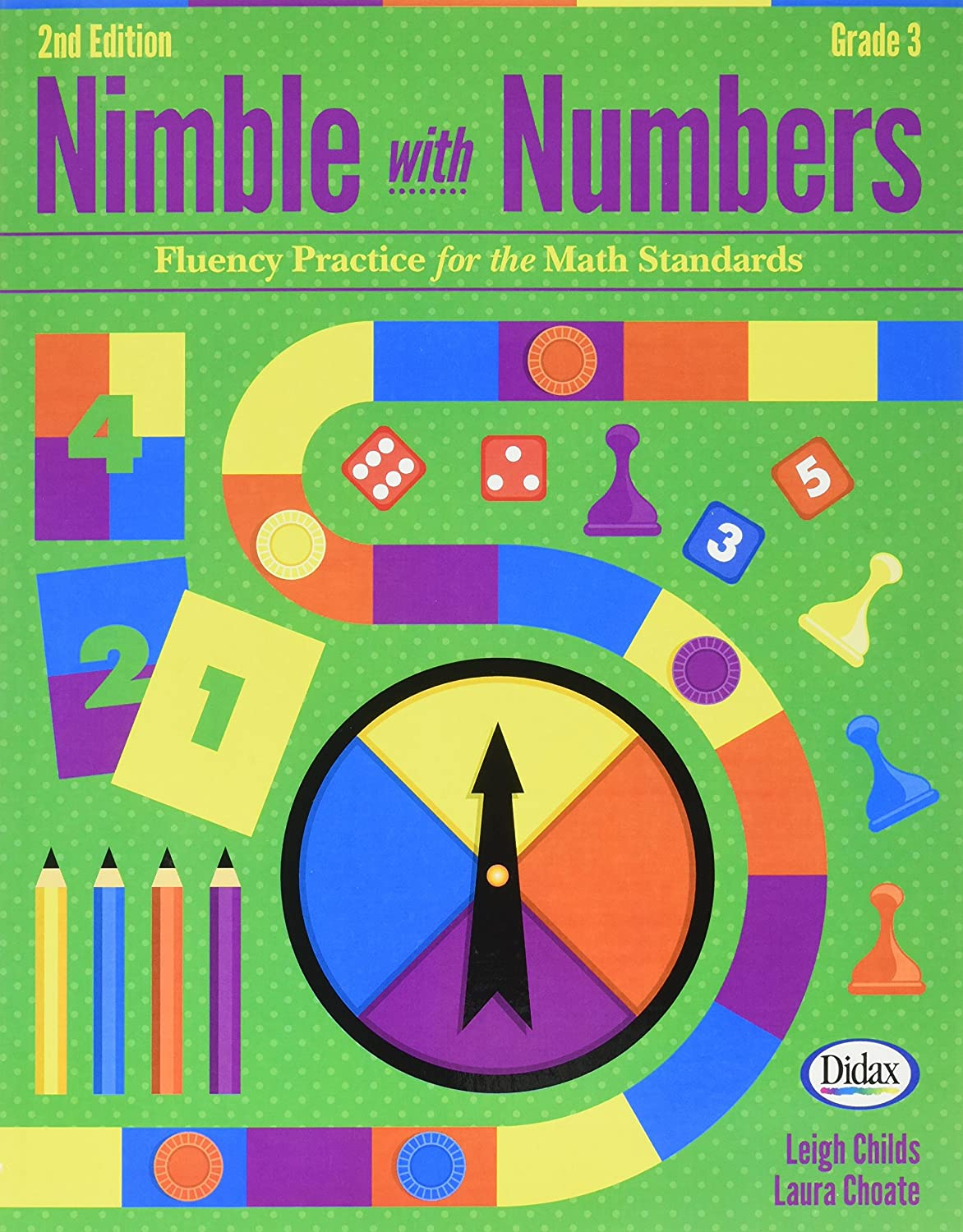 DIDAX Educational RESOURCES Nimble mit Zahlen, 2nd Ed. Gr 3