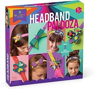 Craft-tastic - Headband Palooza Kit - Craft Kit Includes 8 Headbands and Materials to Customize and Make Them