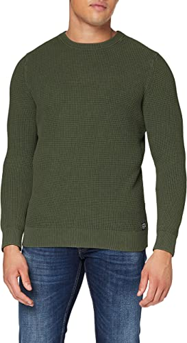 TALLA XS. Superdry Academy Dyed Texture Crew suéter para Hombre