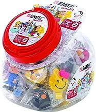 Emtec 8G USB 2.0 Novelty Jar, 3D Flash Drives, 25 Piece (ECMMD8GGUMJAR25)