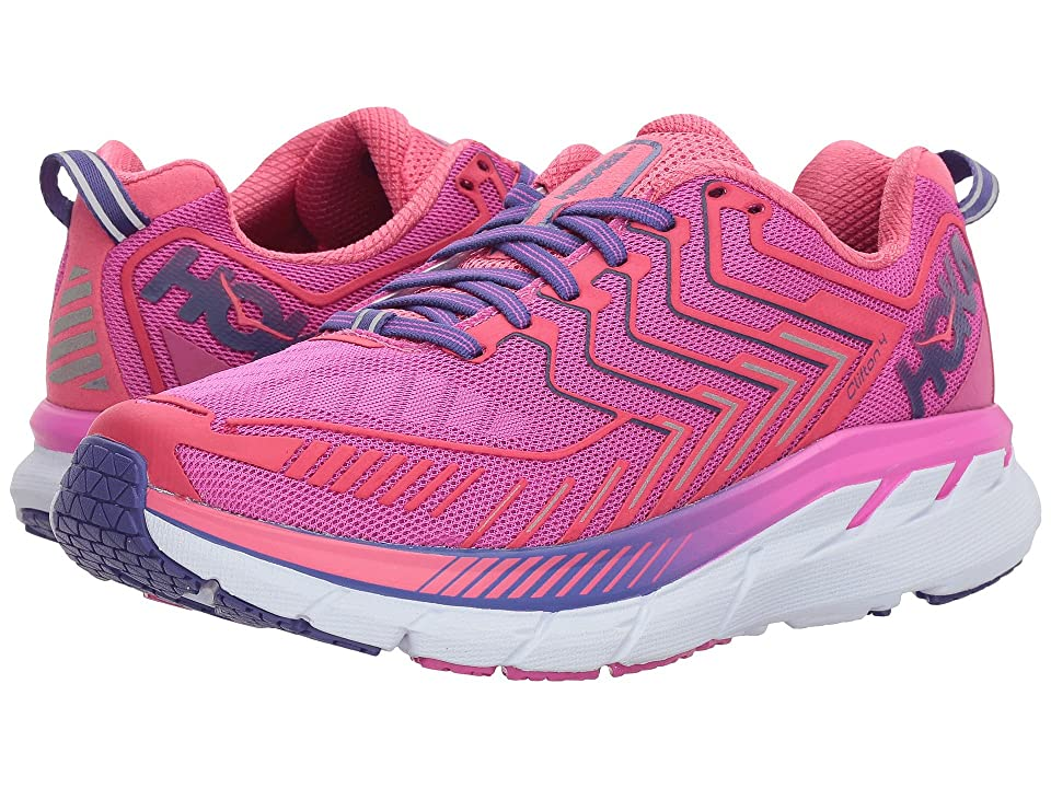 Hoka One One Clifton 4 (Fuchsia/Hot Pink) Women