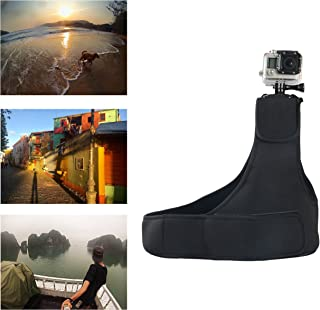 Navitech Adjustable Elastic Shoulder Strap Harness Compatible with The Kaiser Baas X4 Action Camera