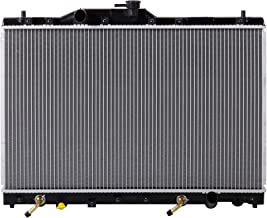 Lynol Cooling System Complete Aluminum Radiator Direct Replacement Compatible With 1991-1995 Acura Legend Coupe Sedan L LS SE GS V6 3.2L