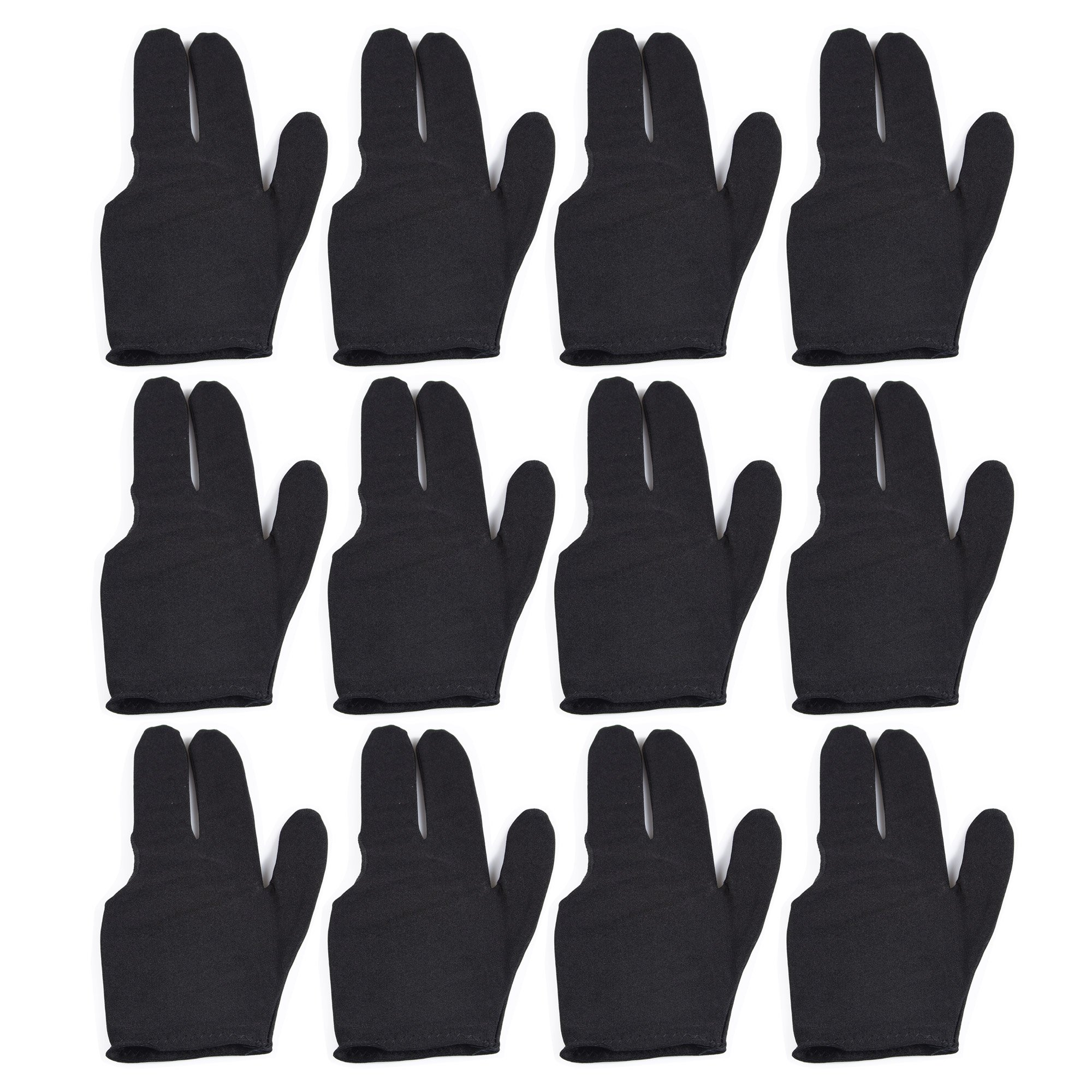 sports Billiard Fingers Gloves Pieces