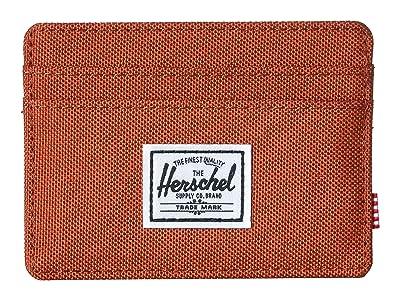Herschel Supply Co. Charlie RFID (Picante Crosshatch) Wallet Handbags