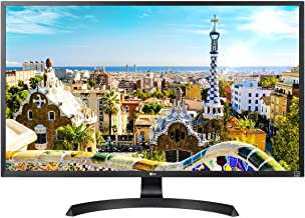 LG 32UD60-B 4K UHD FreeSync Monitor with Height Adjustable Stand, Black