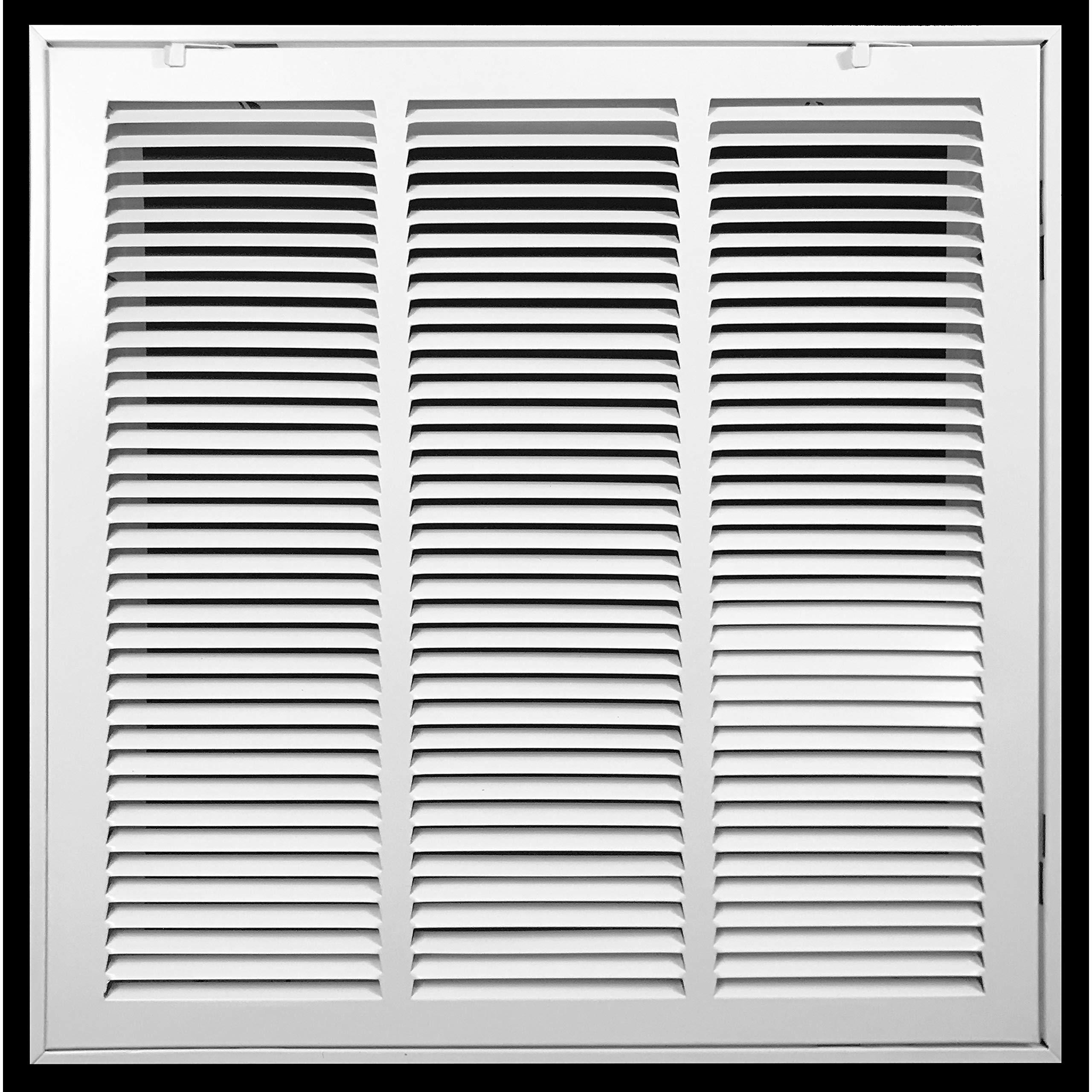 36 in H X 19 in W M-D Building Products 33365 M-D Indoor Door Grill Aluminum