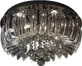 Plafon Greta LED 3000K 45Cm, Startec, 149410013, 24 W, Transparente/Cristais