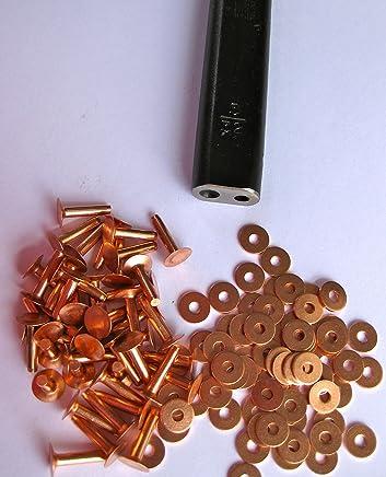 Innovo 500 x Aluminium Pop Rivets 4.8mm x 40mm Standard Open Blind Rivets Dome Head