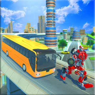 Real Bus Robot Transformation