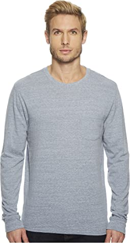Baseline Tri-Blend Long Sleeve Pocket Tee