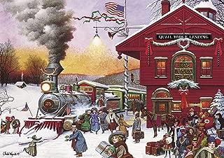 Buffalo Games - Charles Wysocki - Whistle Stop Christmas - 500 Piece Jigsaw Puzzle