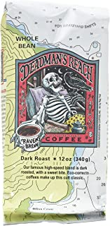 Raven's Brew Deadman's Reach Whole Bean Coffee, 12 Ounce - Dark Roast with Sweet Bite