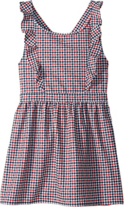 Houndstooth Dress (Big Kids)