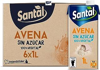 Santal Bebida Vegetal de Avena sin Azúcar - pack 6 x 1Lt