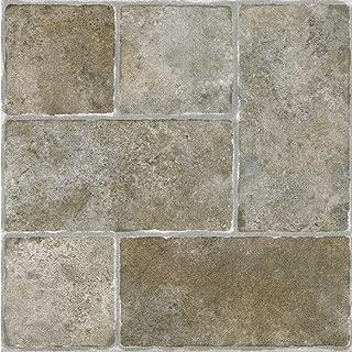 Achim Home Furnishings Achig FTVGM33720 Nexus Quartose Granite,12 Inch x 12 Inch, Self Adhesive Vinyl Floor 337, 20 Tiles
