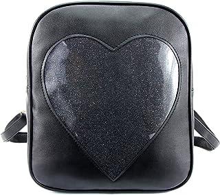 Candy Backpacks Transparent Love Heart Shape Bags Purse Ita Bag