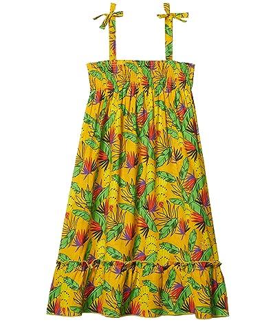Vilebrequin Kids Go Bananas! Dress (Toddler/Little Kids/Big Kids) (Curry) Girl