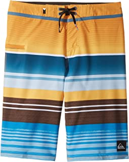 Everyday Stripe Vee Boardshorts (Big Kids)