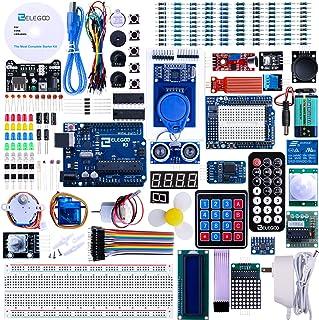 Elegoo EL-KIT-001 UNO R3 Complete Kit Starter Kit with Tutorial for Arduino (63 آیتم)
