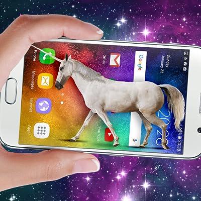 Unicorn on screen: Neighing joke by Just4Fun