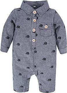 Big Elephant Baby Girls1 Piece Long Sleeve Cheongsam Chinese Style Romper