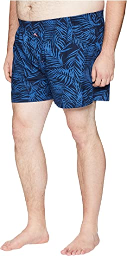 Big & Tall Island Washed Cotton Woven Boxer Shorts