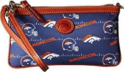 NFL Nylon Large Slim Wristlet