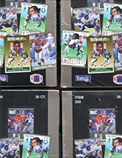 LOT OF FOUR 4 1991 Fleer Ultra Football Wax Pack Box Brett Favre Rookie Card RC