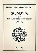 Mario Castelnuovo-Tedesco Sonata Op. 128 Per Clarinetto E Pianoforte (Giuseppe Garbarino)