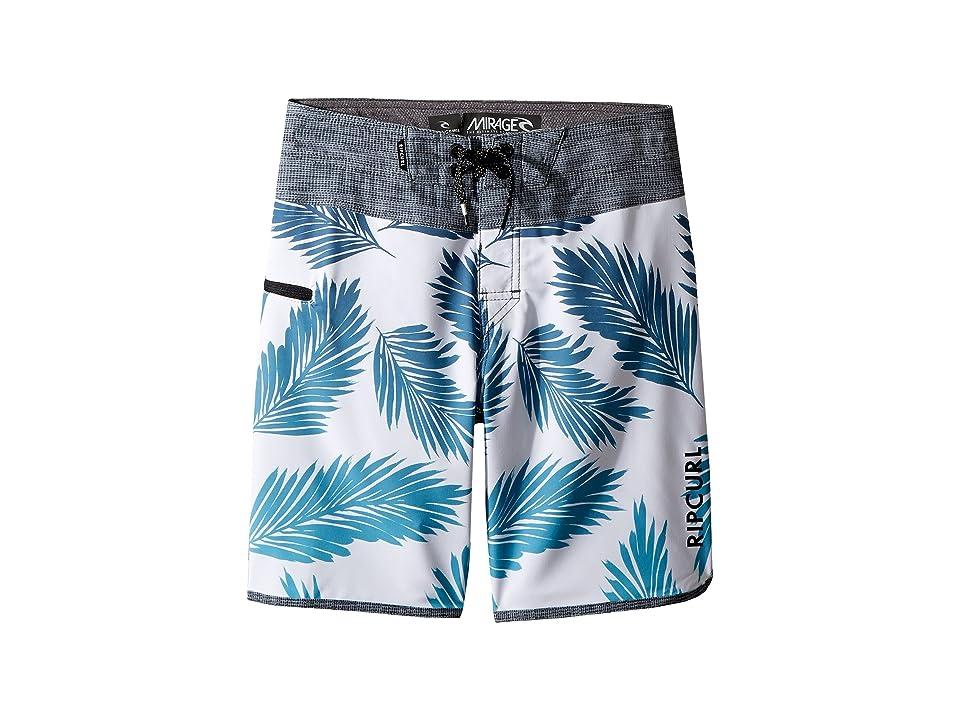 Rip Curl Kids Mirage Mason Rockies Boardshorts (Big Kids) (Light Blue) Boy
