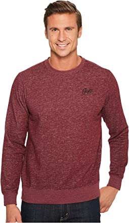 RVCA - Mowgli Script Embroidered Sweatshirt