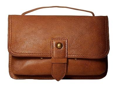 Lucky Brand Liza Convertible Wallet (Walnut) Handbags