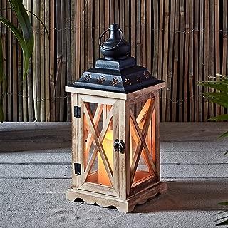 Best rustic wooden lanterns Reviews